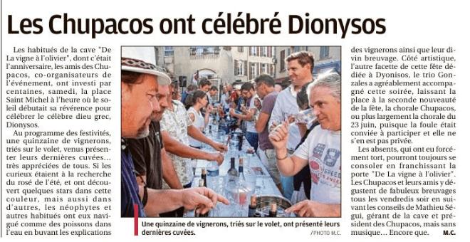 Dionysos 2018